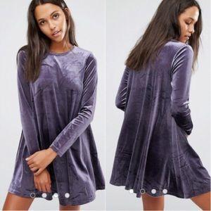 0b4e91cc62bc Glamorous Dresses - Glamorous Velvet Swing Dress Size M